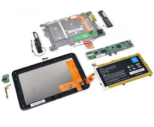 Khả năng sửa chữa của Kindle Fire HD đạt 7/10