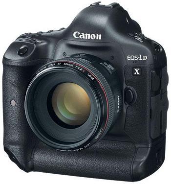 Canon bán được hơn 50 triệu máy ảnh EOS , chuẩn bị EOS-1D X trong tháng Ba 2012