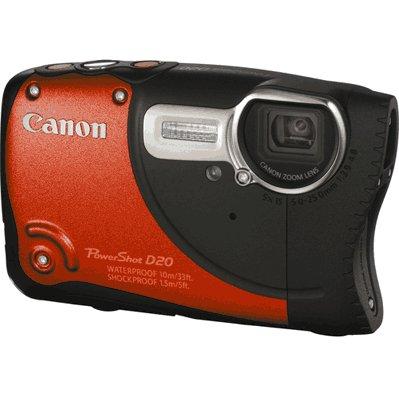 Canon giới thiệu máy ảnh bỏ túi PowerShot D20 chụp ảnh dưới nước