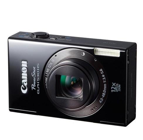 Canon thêm 03 máy ảnh PowerShot : ELPH 530HS , 320HS và SX260HS