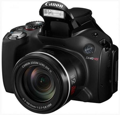 Canon giới thiệu máy ảnh PowerShot S100 và SX40HS trang bị DIGIC 5