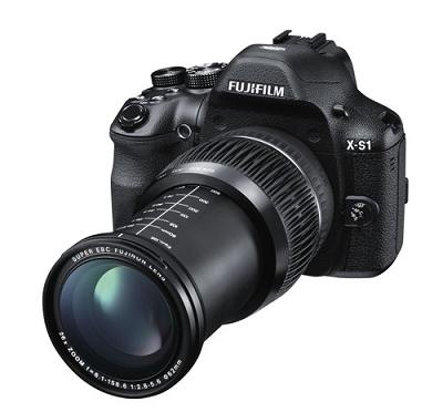 Camera bridge XS-1 của Fujitsu : Zoom 26x , bộ cảm biến EXR