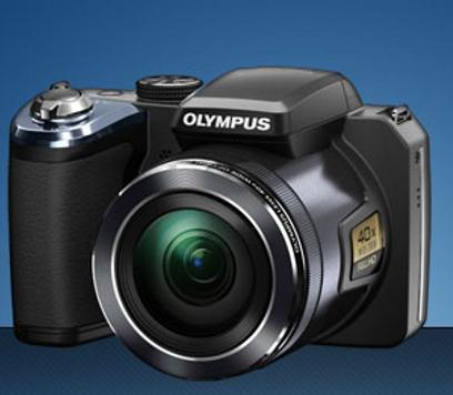 Olympus giới thiệu máy ảnh có Zoom quang 40x