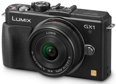 Máy ảnh Lumix DMC-GX1 Micro Four Thirds và Lumix DMC-3D1 của Panasonic