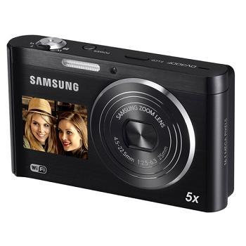 Samsung giới thiệu máy ảnh DV300F Wi-Fi 2 màn hình