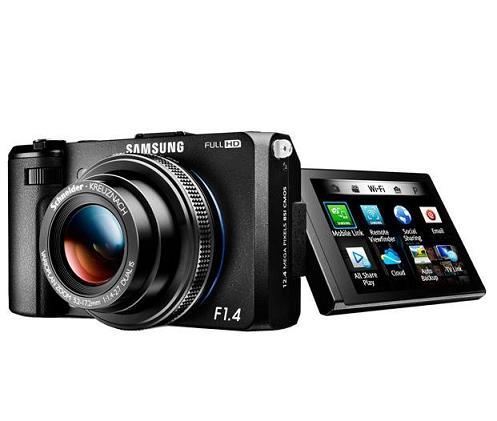 Samsung giới thiệu máy ảnh thông minh EX2F Wi-Fi