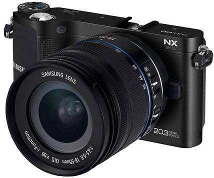 Samsung NX300 là máy ảnh Autofocus 3D mới nhất