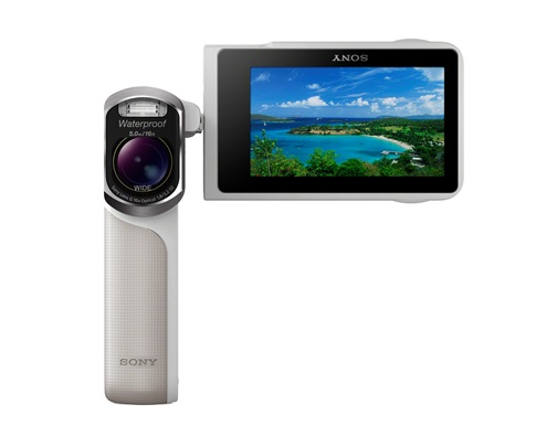Sony với máy quay Handycam GW55VE chống va đập và chống nước