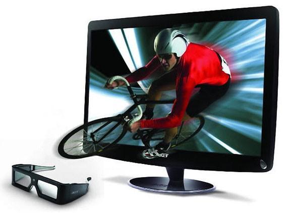 Màn hình 3D : HS244HQ và HN274H của Acer