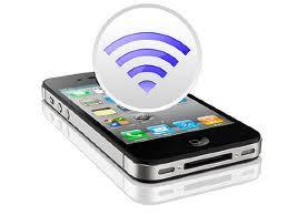 Biến iPhone 4 thành trạm thu phát không dây Internet ( Hotspot )