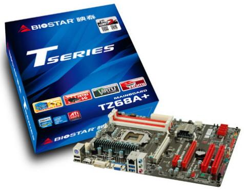 TZ68A+ LGA1155 của Biostar