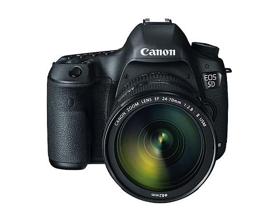 Canon giới thiệu máy ảnh EOS 5D Mark III DSLR với 22.3 MP Full-Frame