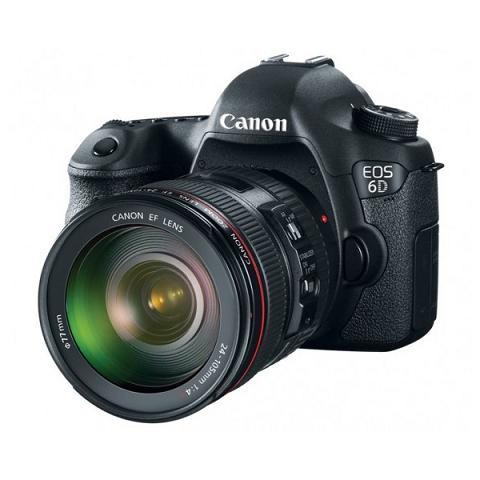 Máy ảnh Full-Frame DSLR EOS 6D 20.2MP của Canon
