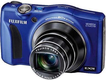 Máy ảnh bỏ túi Fujifilm F770EXR với Zoom 20x và GPS