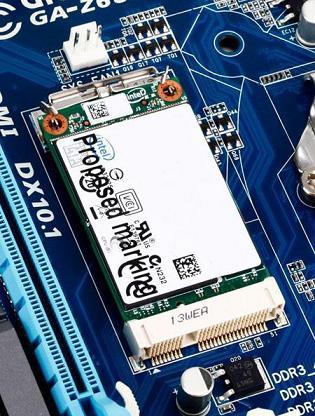 Gigabyte giới thiệu 04 Motherboard có đầu nối mSATA
