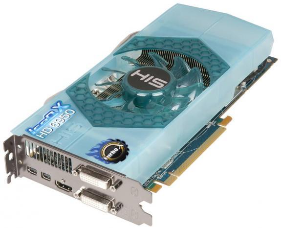 HIS cho ra mắt Radeon HD 6950 với tản nhiệt IceQ X