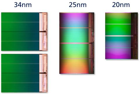Intel , Micron thông báo về Chip 20nm 8GB NAND Flash