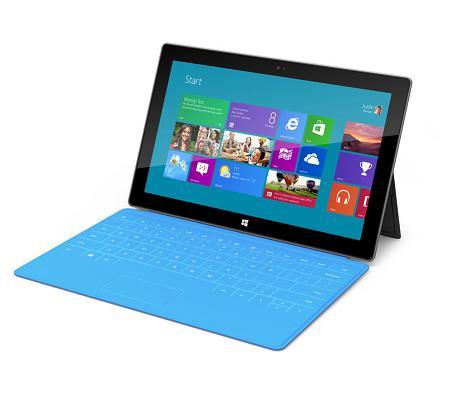 Microsoft Surface thất bại trong những kiểm nghiệm trình duyệt