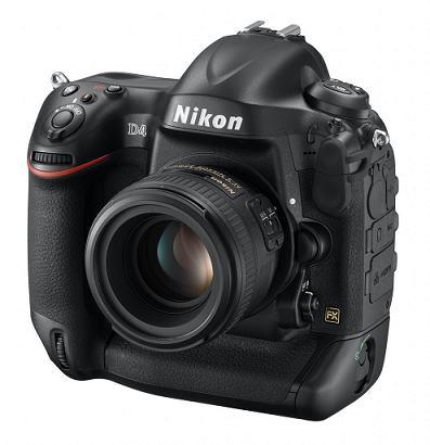 Nikon D4 Pro DSLR bán ra trong tháng Hai với giá 6000$