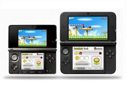 3DS XL của Nintendo mới là lớn hơn so với 3DS