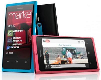 Nokia sửa lỗi Pin của Lumia 800