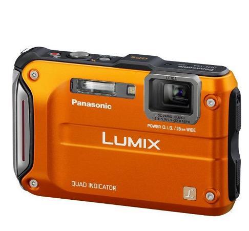 Panasonic chào bán máy ảnh Lumix DMC-TS4 và TS20