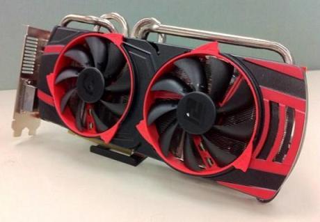 Radeon HD 6950 với tản nhiệt Vortex của PowerColor