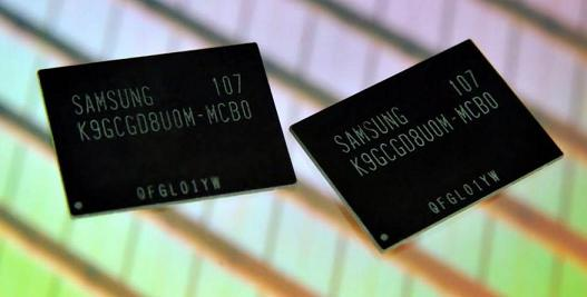 Samsung bắt đầu sản xuất NAND MLC 64Gb tốc độ cao với giao diện Toggle DDR2