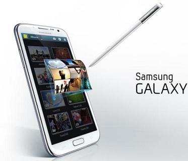 Samsung thu lãi kỉ lục nhờ Galaxy S III , Galaxy Note II
