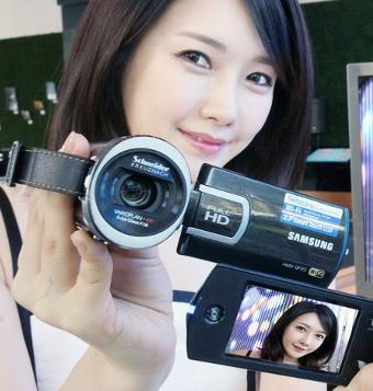 Samsung phát hành máy quay không dây HMX-QF20