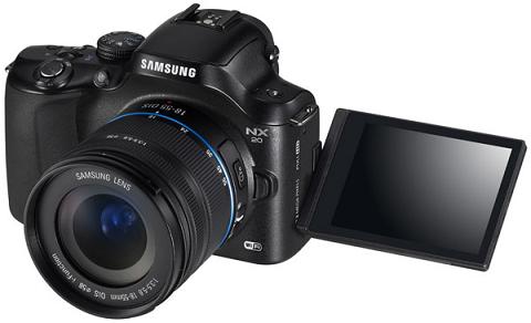 """Samsung thông báo những máy ảnh số cao cấp """"không gương """" mới"""
