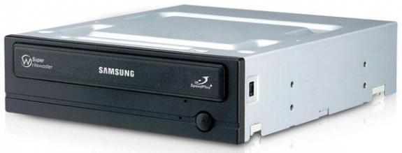 Trong tháng Năm , Samsung chào bán ổ Ghi DVD 22x dùng SATA