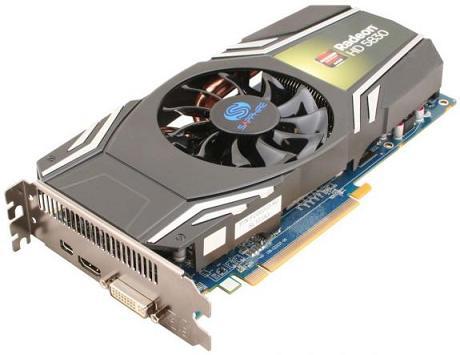 Sapphire làm mới Radeon HD5830 và HD5850 với model Xtreme