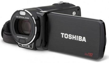 Máy quay Camileo X416 , X400 và X200 của Toshiba