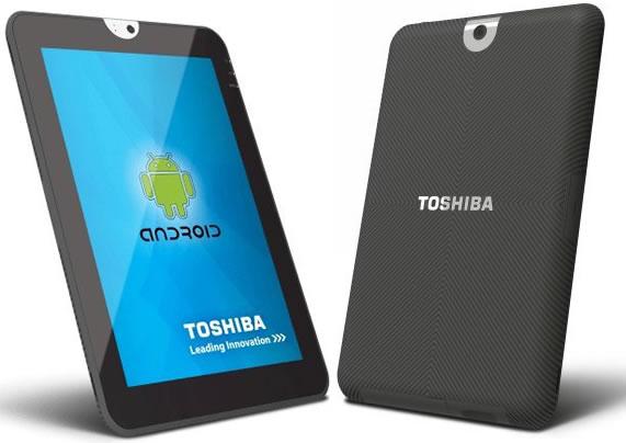 Toshiba đang sửa lỗi trong tablet