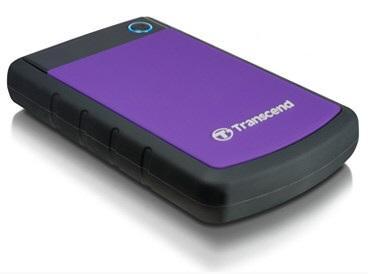 HDD di động 1TB StoreJet 25H3P và 25H2P của Transcend