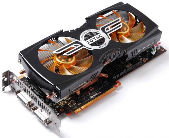 Card màn hình GeForce GTX580 AMP2! Edition của Zotac