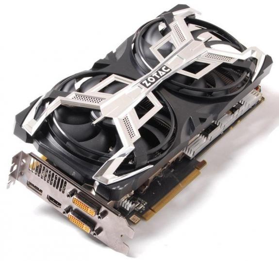 GeForce GTX580 của Zotac có thiết kế nguồn 16+2 phase